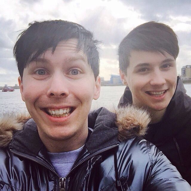 AmazingPhil and Danisnotonfire