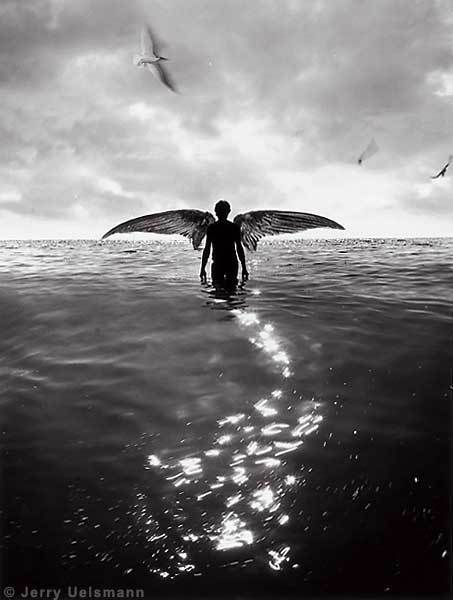 God has promised forgiveness to your repentance, but He has not promised tomorrow to your procrastination.~~Augustine....//Jerry Uelsmann