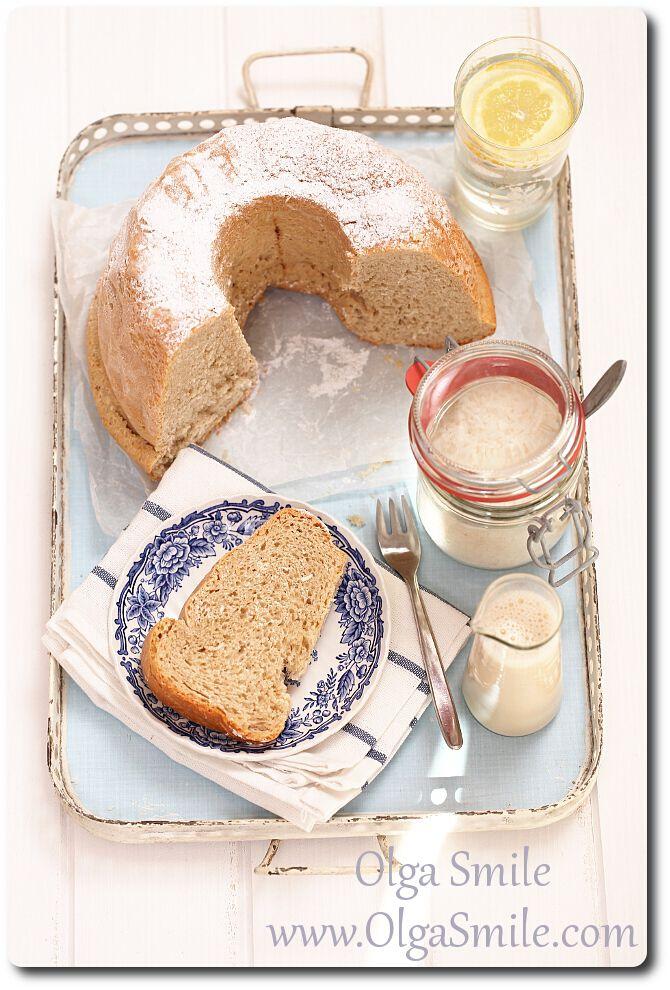 Babka kokosowa - przepis | Kulinarne przepisy Olgi Smile