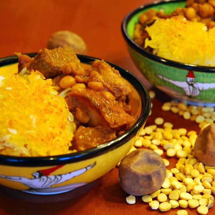 Khoresht-e Beh - Persian Quince Stew. A beautiful fall stew of unusual flavors - quince, yellow split peas, dried limes and beef.