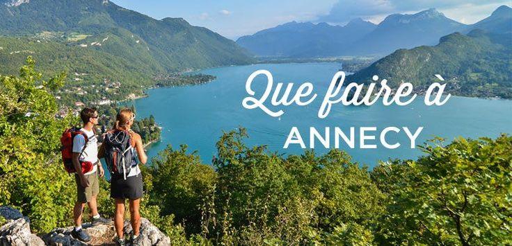 Que faire à Annecy? Notre guide des choses à faire et à voir vous donne tous les bons plans pour visiter Annecy, sa vieille ville et les alentours du Lac. Retrouvez également nos conseils d'itinéraires pour visiter Annecy en 1, 2 ou 3 jours et notre sélection des meilleurs hébergements.