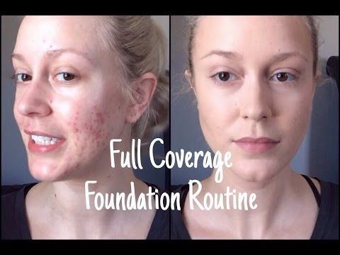 how to make any foundation full coverage