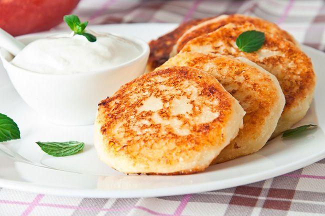Pasteles de queso con patatas