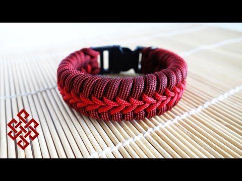 Stormdrane's Center Stitched Fishtail Paracord Bracelet Tutorial - YouTube