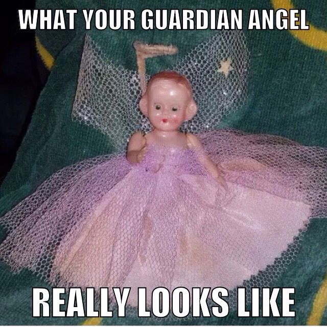 Guardian angel meme