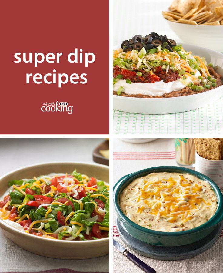 Delicious dip #recipes for all your entertaining needs!