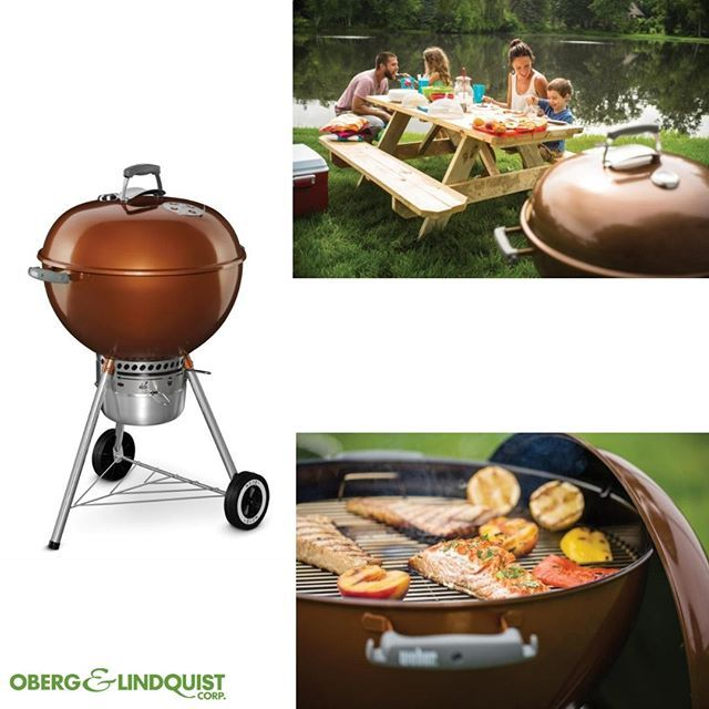 Original Kettle Premium Charcoal Grill 22 Inch Copper Weber Webergrill Grill Charcoalgrill Grilling Charcoal Grill Grill Party