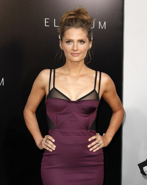 "Stana Katic at the ""Elysium"" World Premiere on August 7, 2013"