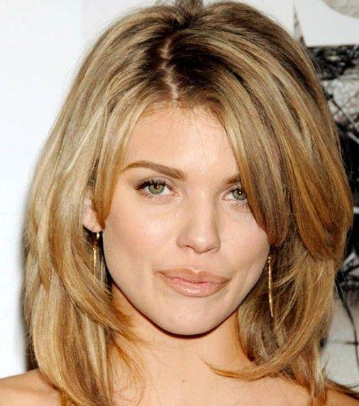Erstaunlich Frisuren Frauen Rundes Gesicht