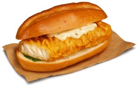 KFC「フライドフィッシュサンド」 http://entabe.jp/news/article/3738