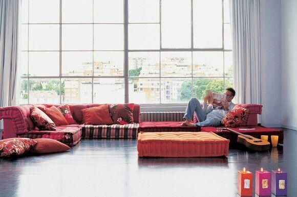 Roche Bobois Mah Jong Modular Sofa Design Dise O Light