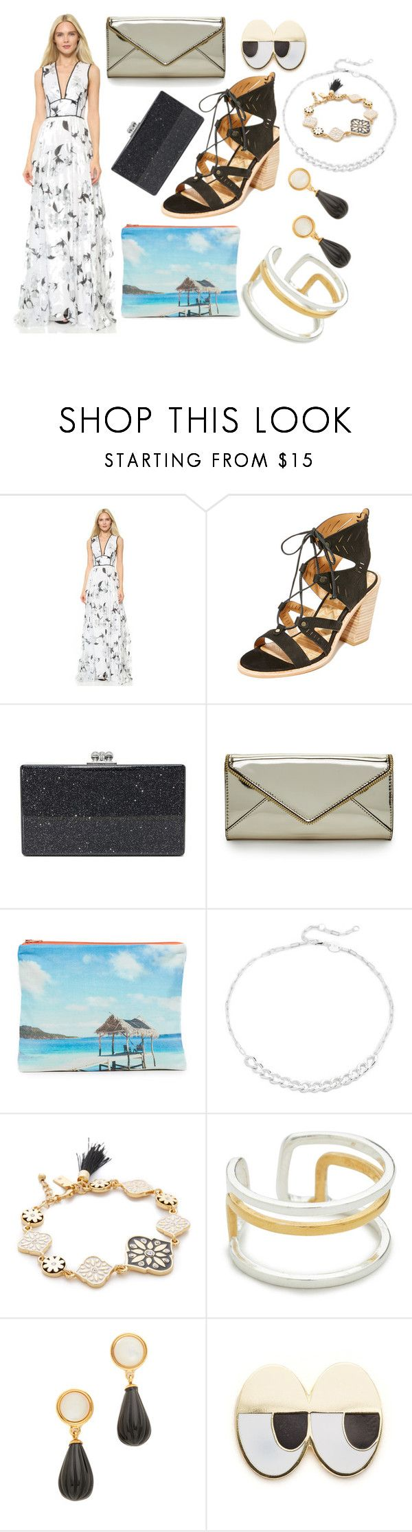 """""""Cool thing"""" by racheal-taylor ❤ liked on Polyvore featuring Lela Rose, Dolce Vita, Edie Parker, Rebecca Minkoff, Samudra, Jennifer Zeuner, Kate Spade, Maya Magal, Lizzie Fortunato and Georgia Perry"""