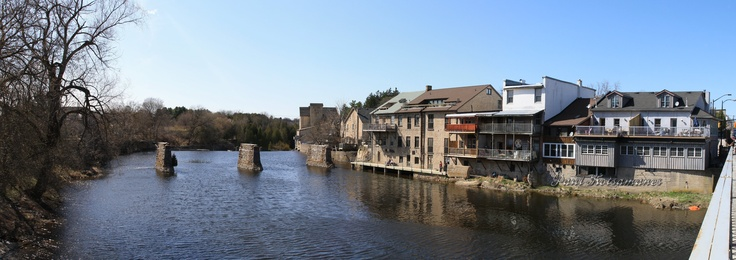 The Town of Elora