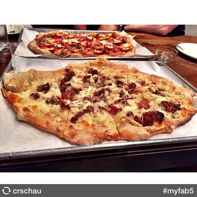 Pizza is just one of those foods you can't turn down. Especially not this mashed potato pizza from Urbn that @crschau probably had all to themselves. I mean, I wouldn't share this pizza even if my brothers were all turtles named after Italian Renaissance painters. Let us know where you think the best pizza in San Diego is by leaving your recommendation in the comments. Better yet, Instagram it and tag it #myfab5! Cowabunga!  Posted by  @fatcatalyst  #myfab5 #sandiego #pizza #urbn