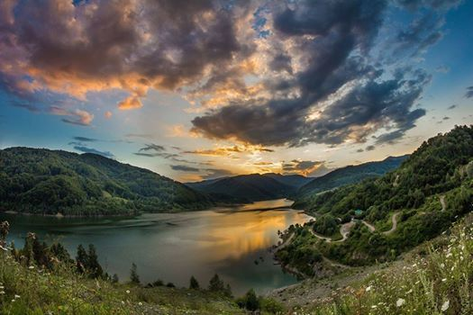 Lanscape in Transylvania
