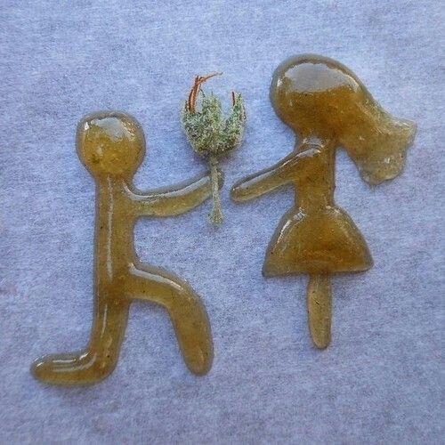 Weed art, oil art, boy & girl, romantic stoner art                                                                                                                                                                                 More