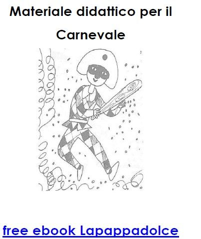 Maschere da colorare di Carnevale – schede e free ebook – Lapappadolce