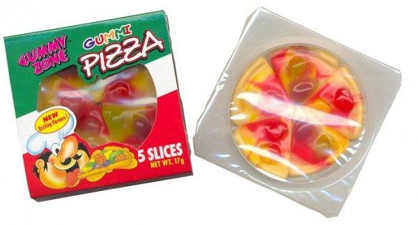 Snoep pizza's voor een Teenage Mutant Ninja Turtle feestje