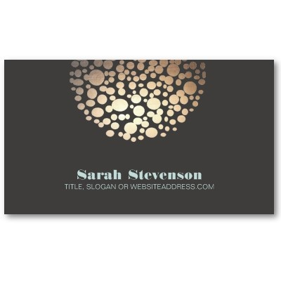 Chic and Unique Business Card