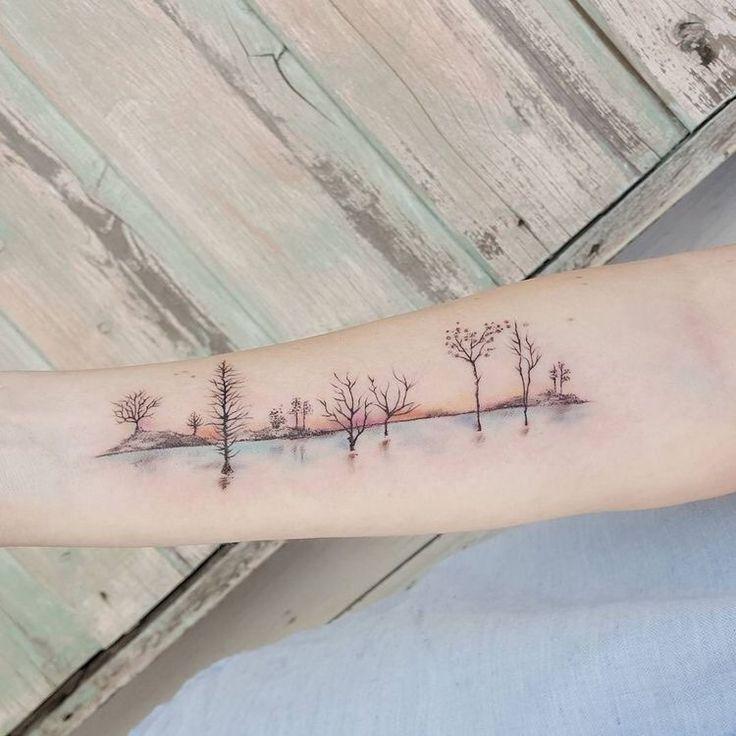 Dreamlike tattoos
