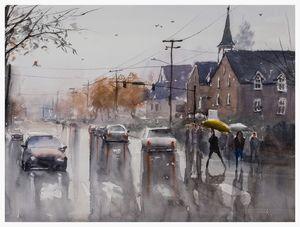 Wet Afternoon in Redmond