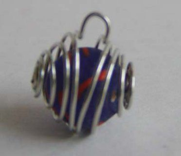 How To Make Wire Cages For Round Beads « This Year's Dozen