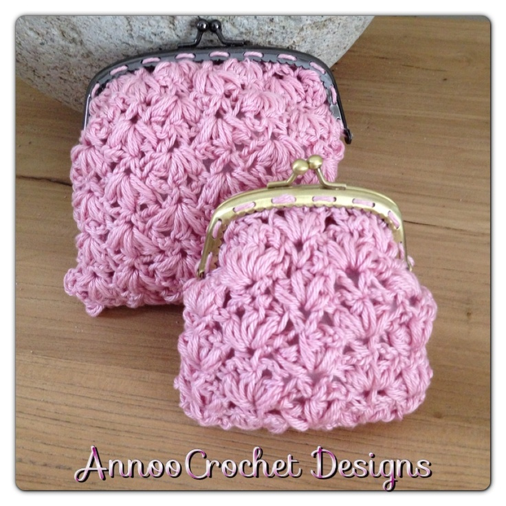 The 90 best images about coin purses crocheted on ...