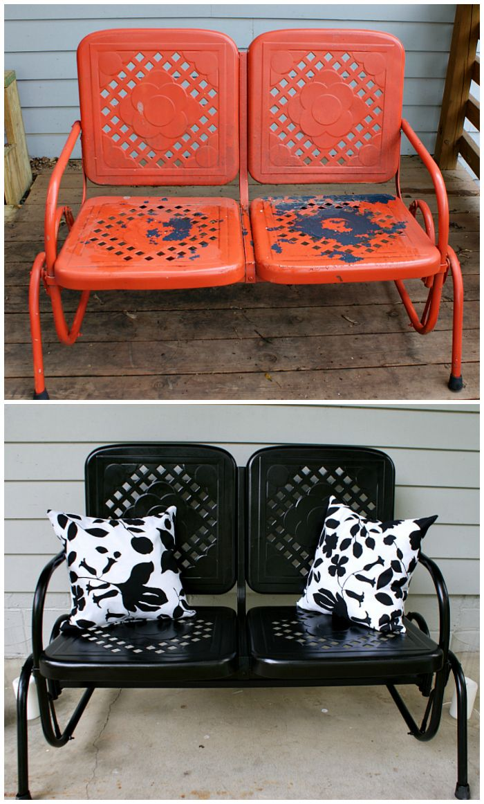 Outdoor Furniture Makeovers That Will Blow You Away - One Crazy House