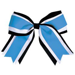 Jumbo 3 Color Cheerleading Hair Bows by Chasse Cheer $15.95 only i want green
