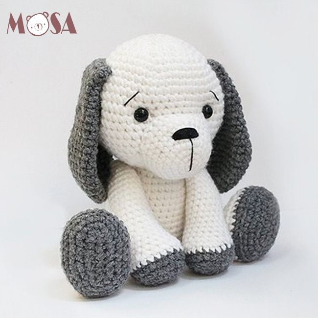 Crochet Amigurumi Puppy Dog PATTERN ONLY, Jack Pup, pdf Stuffed ... | 650x650