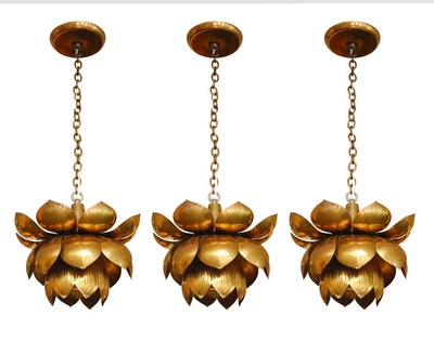 lotus pendant lights