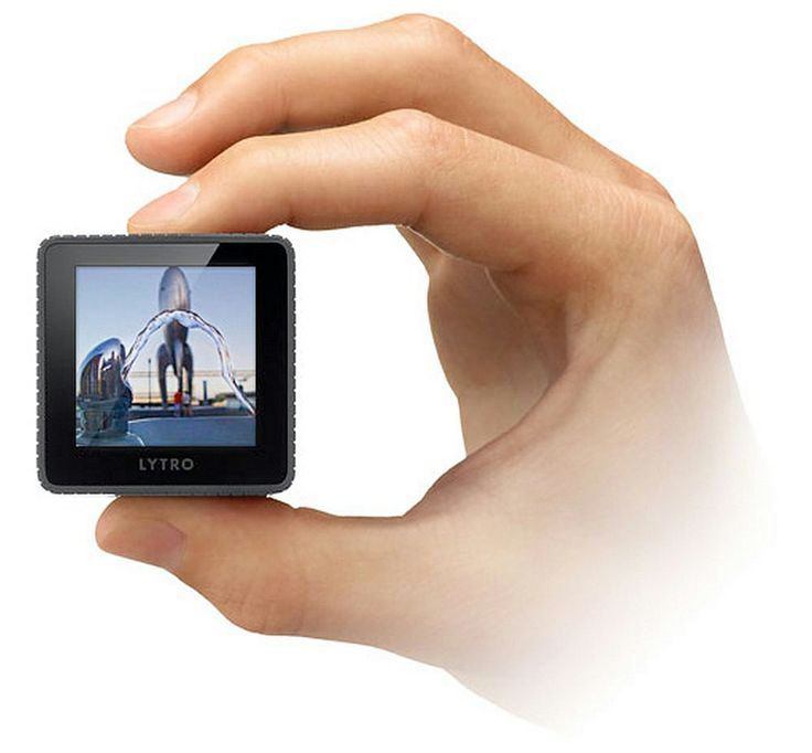 Lytro Light Field Camera allows you to take living pictures.