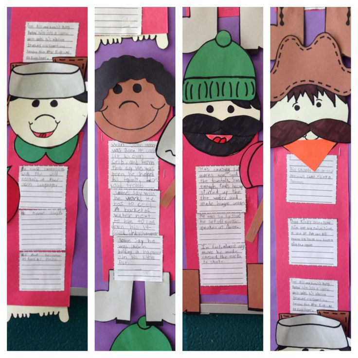 Tall Tale Graphic Organizers- Johnny Appleseed, John Henry, Paul Bunyan, & Pecos Bill ☺️!!!!