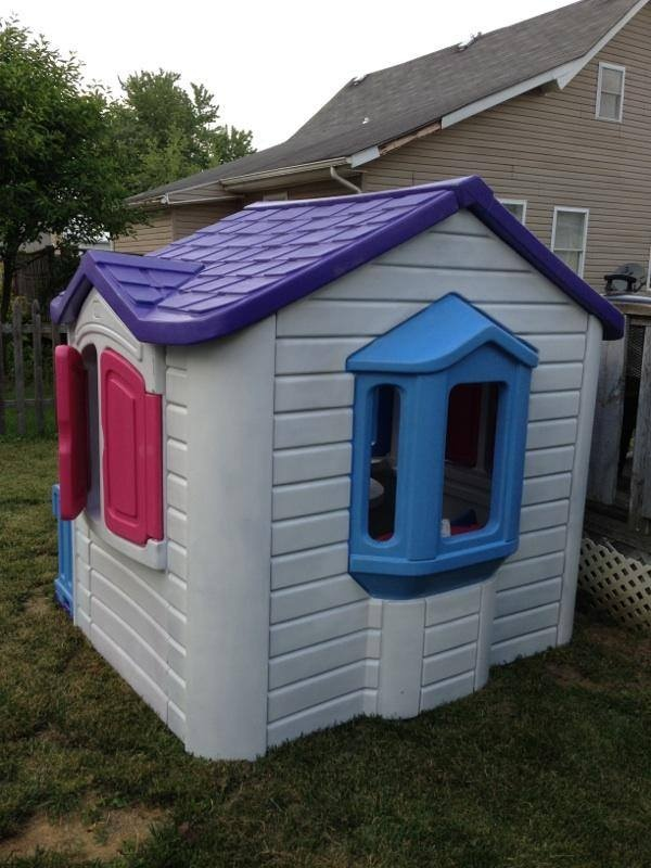 Step2: I Bought This Step2 Playhouse From A Friend And Repainted