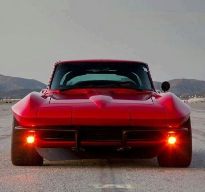 Corvette Stingray Custom Muscle Cars 63