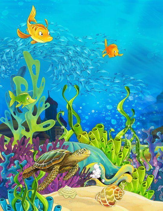 вещь, грамотно подводный мир открытку в дет сад рисунок если про море