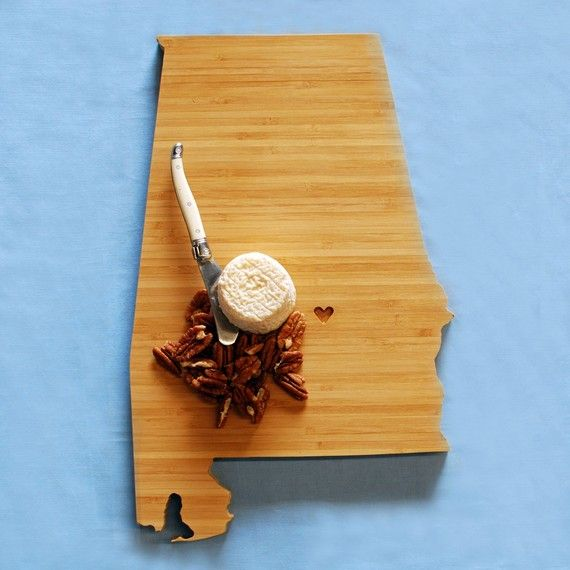 Alabama plyboo cutting board