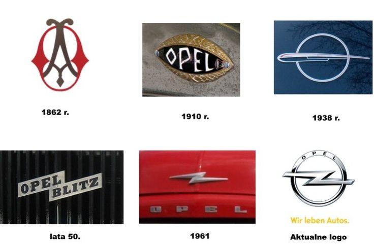 """Pierwsze logo niemieckiego producenta aut powstało w 1862 r. i składało się z dwóch splecionych liter A i O, inicjałów założyciela firmy Adama Opla. Pod koniec XIX w. znak graficzny został całkowicie zmieniony, a w nazwie pojawił się człon """"Blitz"""", czyli błyskawica, od której wziął się znany do dziś z logo Opla piorun w okręgu."""