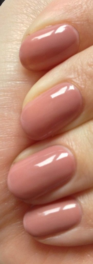 Gelish Nails in Old Rose !