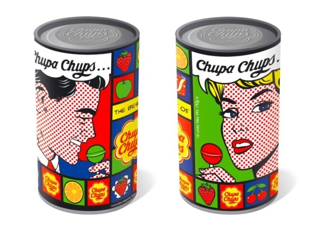Chupa Chups packaging Lichtenstein