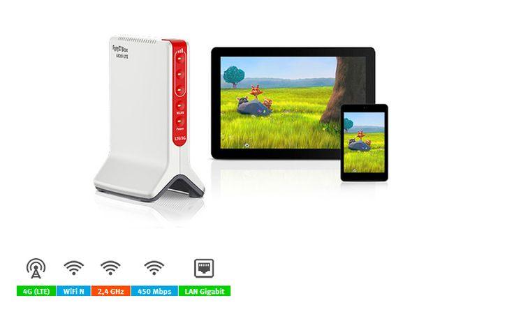 20002727  FRITZ!Box 6820  LTE Modem Router 4G ranura SIM,WiFi N450Mbps