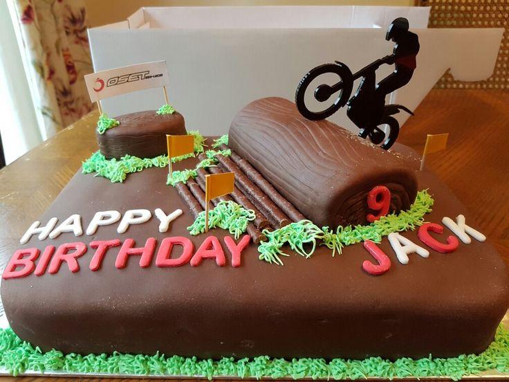 Trials Bike Cake