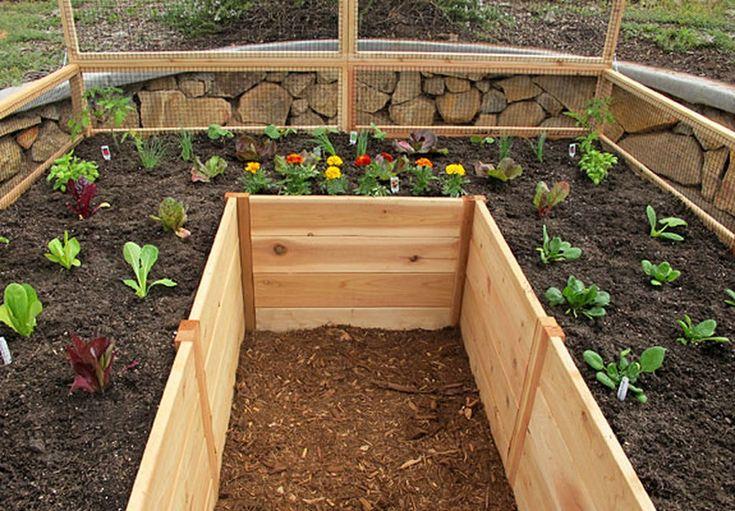 "Cedar Complete Raised Garden Bed Kit 8' x 8' x 20"" in 2020"