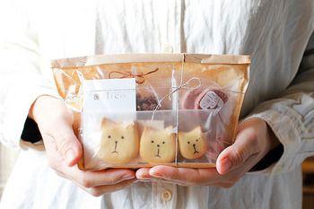 感謝の気持ちを伝えるのに、こんな可愛いキャリコの焼き菓子セットはいかが? 気持ちがもっと伝わりそうな、キャリコのお菓子です。