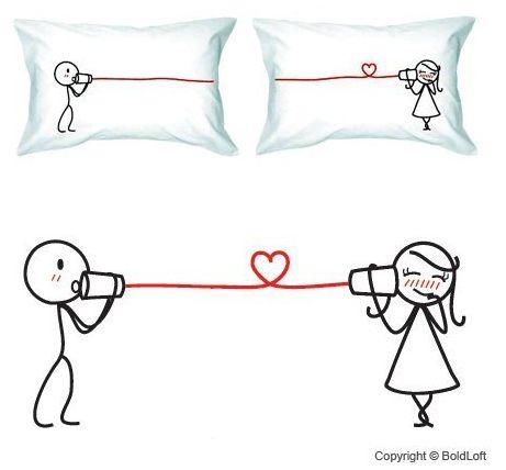 Cute Matching Pillow Cases : BoldLoft Pillowcases BOLDLOFT COUPLE PILLOW CASES ON SALE LOW AS $26.95 WITH FREE SHIPPING ...
