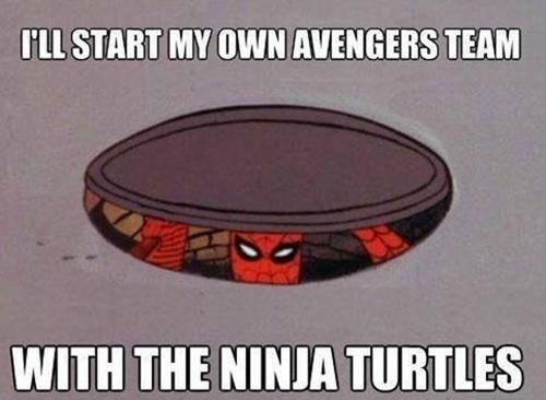60s Spiderman Meme... okay, im done... for now.