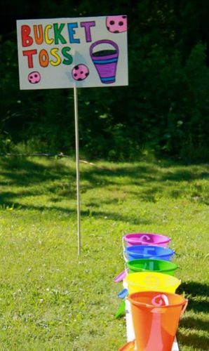 Games from Children's Day / Church School Sunday at the church!