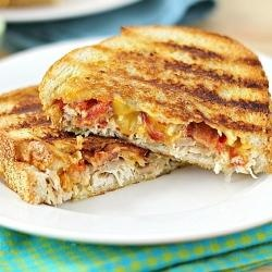 #163505 - Chicken Baocn Panini with Spicy Chipotle Mayo