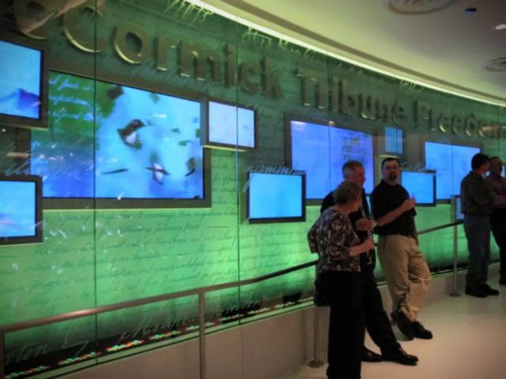 As an overture to the McCormick Freedom Museum, a 30-foot media wall orchestrates people throughout time exercising, challenging, celebrating, and defending freedom.  Sweeping…