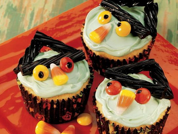 easy halloween cake ideas creative halloween cupcake decorating ideas_05 - Easy To Make Halloween Cakes